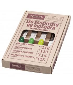 Opinel 4 lü renkli bıçak seti