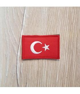 Taktikal Türk Bayrağı Patch - Piko