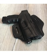 Deri Tam Kelebek Silah Kılıfı - Fenerli Kullanım İçin