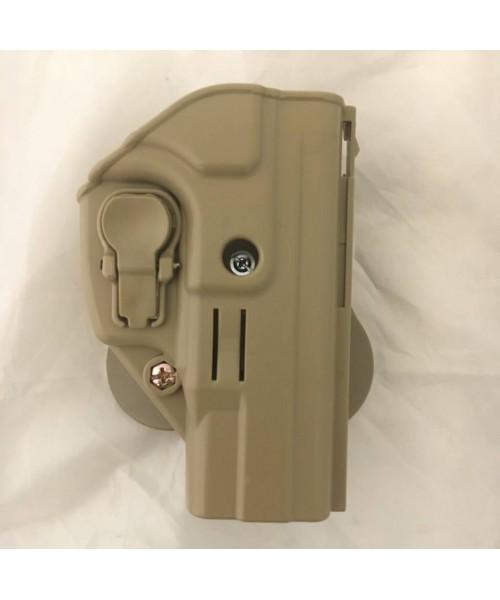 ACAR-AL Sarsılmaz SAR9 Kilitli Silah Kılıfı - TAN