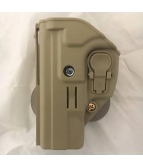ACAR-AL Sarsılmaz SAR9 Sol Kilitli Silah Kılıfı - TAN