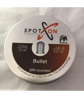 SpotOn Bullet 5.5 mm (24.7 Grain) Pellet Havalı Saçma