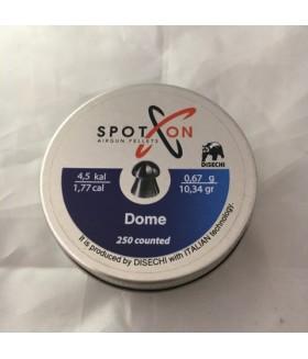 SpotOn Dome 4.5 mm (10.34 Grain) Pellet Havalı Saçma