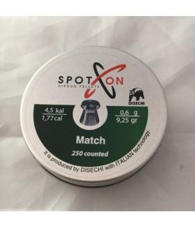 SpotOn Match 4.5 mm (9.25 Grain) Pellet Havalı Saçma