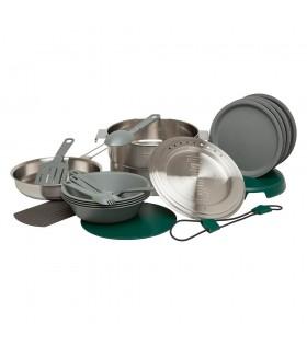 Stanley Adventure Çelik Kamp Yemek Pişirme Seti (19 Parça Set) 3,5 LT