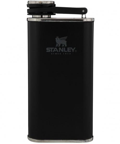 Stanley Klasik Paslanmaz Çelik Cep Matarası 0.23 Lt - Siyah