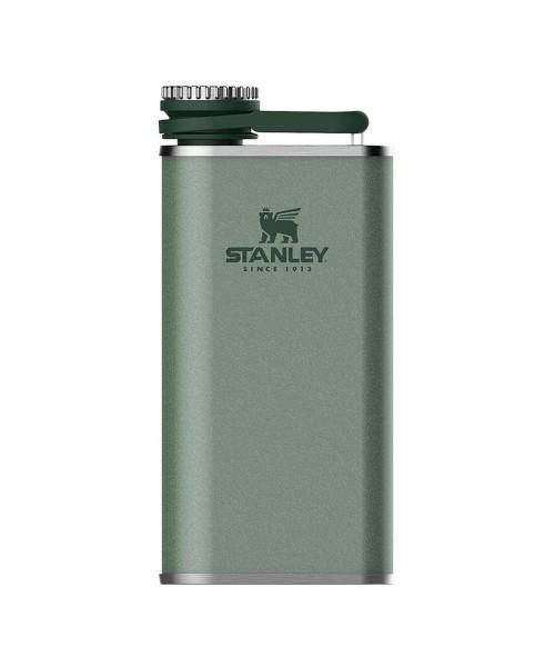 Stanley Klasik Paslanmaz Çelik Cep Matarası 0.23 Lt - Yeşil
