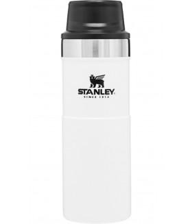 Stanley Klasik Trigger-Action Seyahat Bardağı 0,47 LT - Beyaz