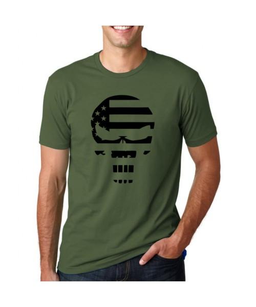 Punisher Taktikal Tshirt - Yeşil