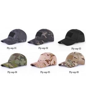 Patch Yapıştırılabilir Taktikal Kamuflaj Şapka