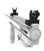 Taktikal Tüfek Metal Premium Nişangah (Açılır - Kapanır)