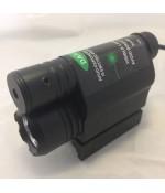 Taktikal Tüfek Lambası - Yeşil Lazer