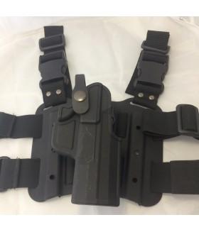 UNICORN - Canik TP9 SF Çıtçıtlı Bacak Silah Kılıfı