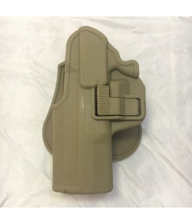UNICORN - Canik TP9 SF Kilitli Sol Silah Kılıfı - TAN